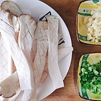 吃出肉味的香煎杏鲍菇➕太太乐鲜鸡汁蒸鸡原汤的做法图解2