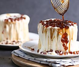 火到爆炸的【瀑布爆浆蛋糕】的做法