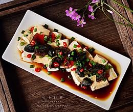 #精品菜谱挑战赛#凉拌皮蛋豆腐的做法