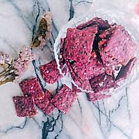无油无糖的紫薯燕麦饼干