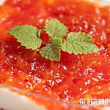 蜂蜜柚子麻糬蛋糕