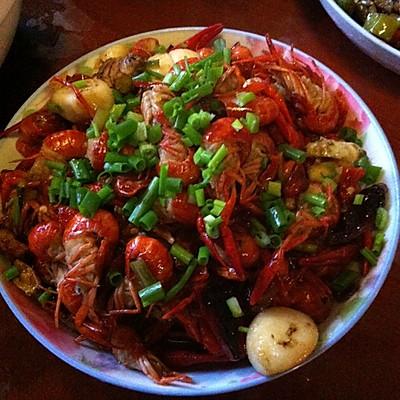 爆炒小龙虾