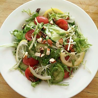 减肥去火沙拉_柠檬蔬菜沙拉