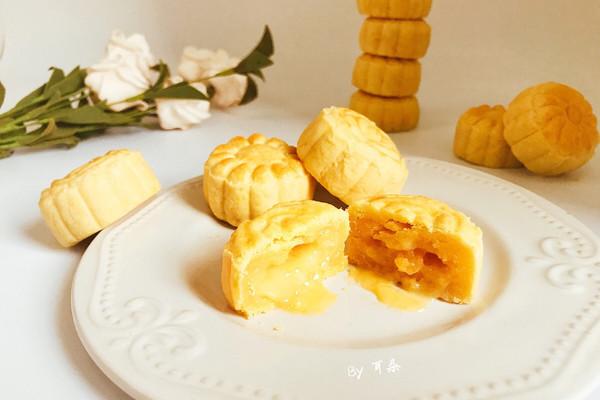 仿香港美心流心奶黄月饼#法国乐禧瑞,百年调味之巅#的做法