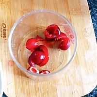 #父亲节,给老爸做道菜#百香果樱桃饮的做法图解2