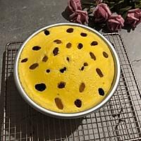 我是一个顶着葡萄的6寸蒸蛋糕的做法图解16