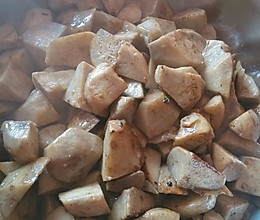 炒香芋头的做法