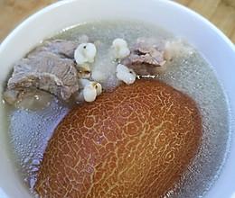 适合夏天喝的老黄瓜猪骨汤的做法