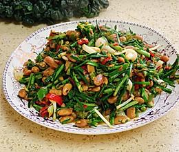 #餐桌上的春日限定#野葱炒臭豆豉的做法