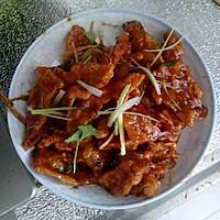 锅包肉的做法图解4
