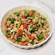 藤椒小炒鸡腿肉~微麻微辣,下饭菜就它了#福气年夜菜#