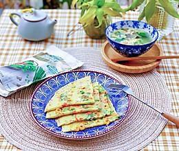 宝宝辅食|田园蔬菜饼配芙蓉蛋花羹的做法