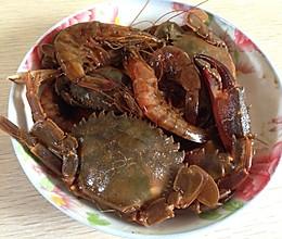 生腌虾 螃蟹的做法