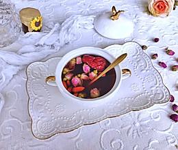 【玫瑰红糖姜茶】美容养颜去寒气的做法