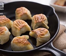 广式青菜虾仁煎饺的做法