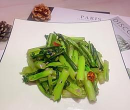 #元宵节美食大赏#清炒红菜苔的做法