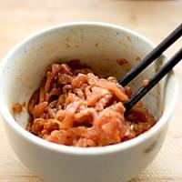 青椒炒肉丝的做法图解3