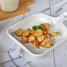 黑椒烤杏鲍菇(空气炸锅版)