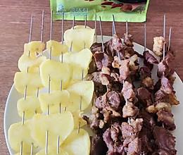 #饕餮美味视觉盛宴#家樂东北风味烤羊肉串的做法