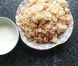 酱油蛋炒饭的做法