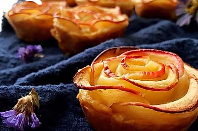 酥皮苹果卷