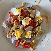 减肥必备—蔬菜鸡胸肉沙拉的做法图解3