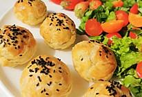 #合理膳食 营养健康进家庭#完胜蛋挞紫薯酥—外酥里糯香甜可口的做法