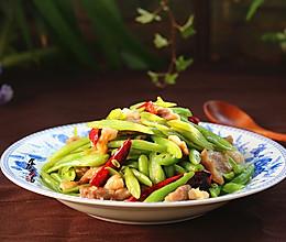 辣椒肉炒四季豆的做法
