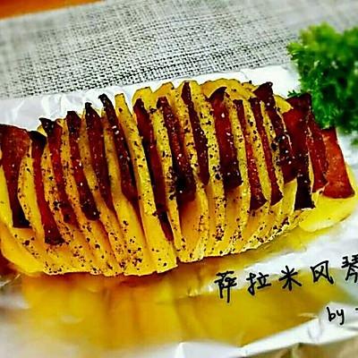 萨拉米风琴土豆