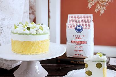 青提夏洛特蛋糕