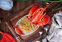 蒜蓉粉丝蒸龙虾#新年开运菜,好事自然来#的做法