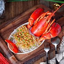 蒜蓉粉丝蒸龙虾#新年开运菜,好事自然来#