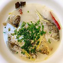 慢煮草鱼汤