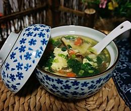 芙蓉鲜蔬汤的做法