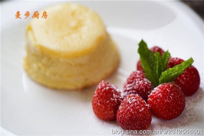 曼步厨房 - 舒芙蕾柠檬布丁