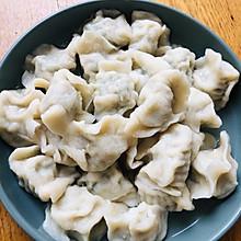 大肉韭菜馅饺子