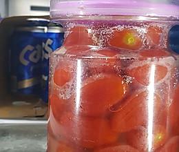 糖渍小番茄的做法