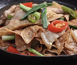 井冈山豆皮:豆腐皮要好吃,会泡发是关的做法