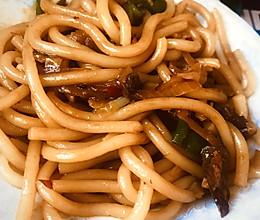新疆正宗牛炒米粉的做法