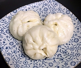 青菜香菇包子的做法