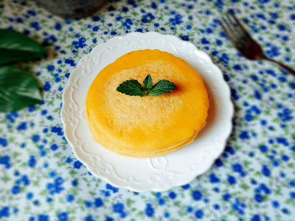 奶香玉米饼的做法