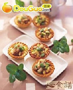 青椒咸派塔饼的做法
