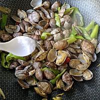 辣炒花蛤的做法图解9