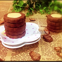 黄油可可曲奇饼干# 百吉福芝士力量#的做法图解12
