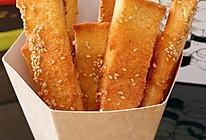 蜂蜜面包条,老少皆宜,刷剧必备的做法