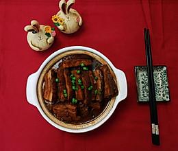 年夜饭之珠玉满堂(芋头扣肉)的做法