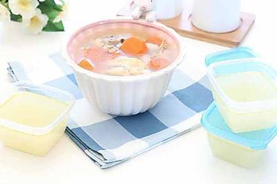 宝宝辅食微课堂  自制鸡肉高汤 不一样的鸡高汤