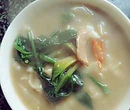 肉丝汤面条的做法