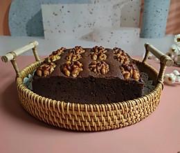简单不用打发的【布朗尼蛋糕】的做法