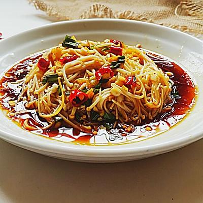 凉拌金针菇~开胃小菜